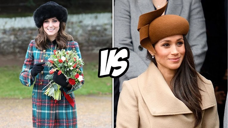 Kate Middleton Versus Meghan Markle Style on Royal Family's