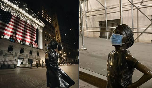 Viral, Patung di Seluruh Dunia Pakai Masker, Ingatkan Orang Patuhi Instruksi Pemerintah