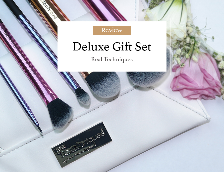 Real Techniques Deluxe gift set Review