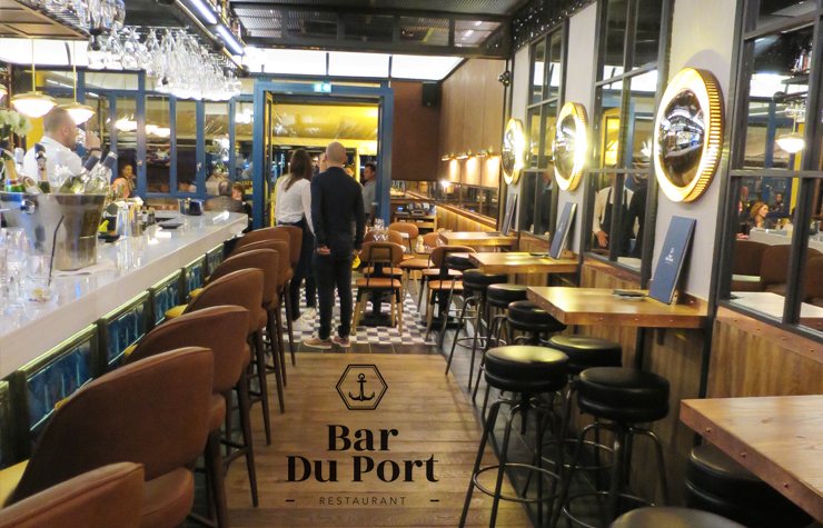 restaurant bar du port St Tropez