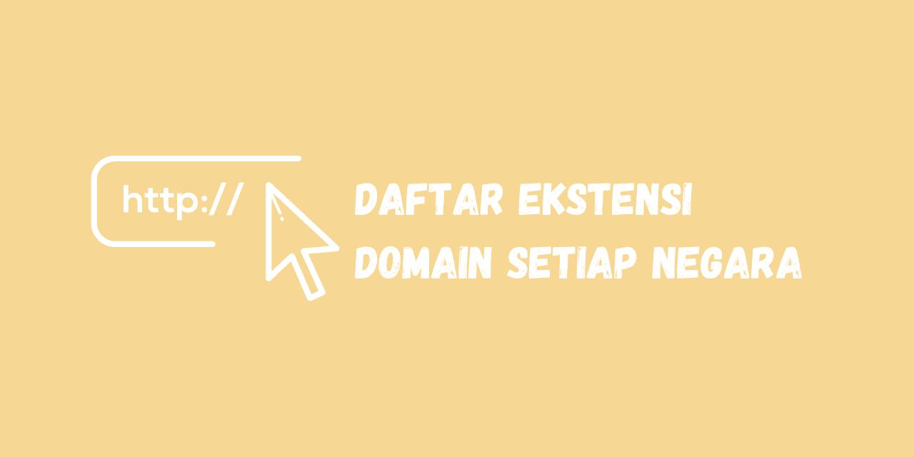 ekstensi domain setiap negara, ekstensi domain cctld