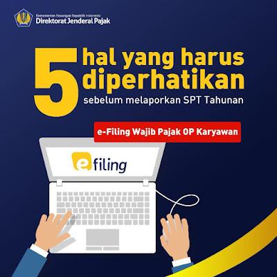 Syarat Lapor SPT Tahunan Karyawan DJP Online