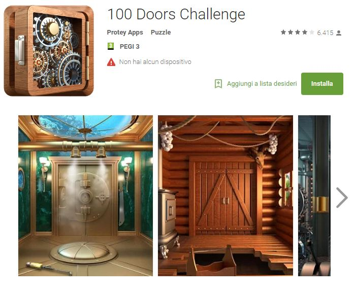 Soluzioni 100 Doors Challenge livello 101 102 103 104 105 106 107 108 109 110 | Trucchi e Walkthrough level