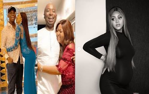 Regina Daniels and her husband, Prince Ned Nwoko are expecting their first child