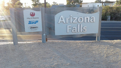 Arizona Falls Sign