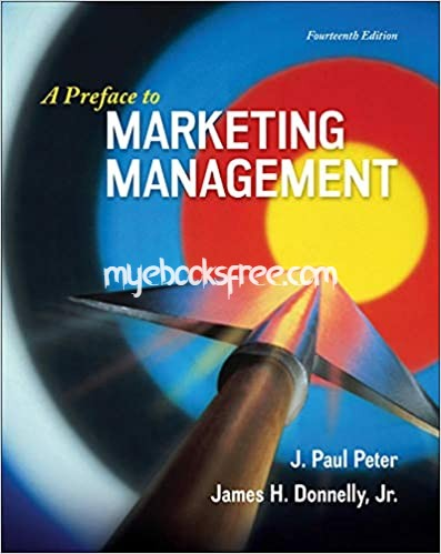A Preface to Marketing Management Pdf eBook 14e by Peter and Donnelly