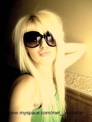 Emo Blonde Hairstyles 8