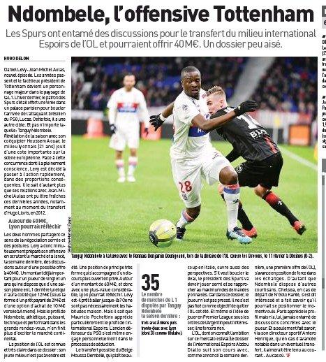 Ndombélé and early transfer problems