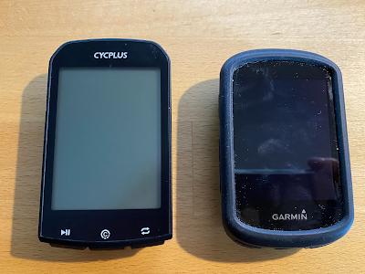Cycplus M1 vs Garmin Edge 530