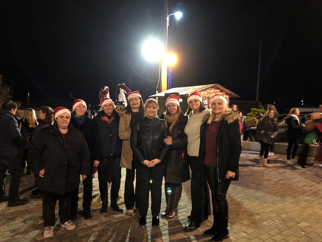 Ο Πολιτιστικός Σύλλογος Σκαφιδακίου άναψε το χριστουγεννιάτικο δέντρο