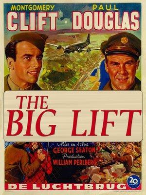 Póster película Sitiados (The Big Lift)