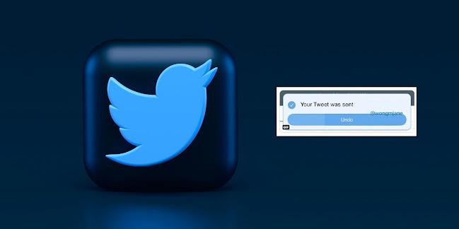 التراجع عن إرسال التغريدات على تويتر Undo Send