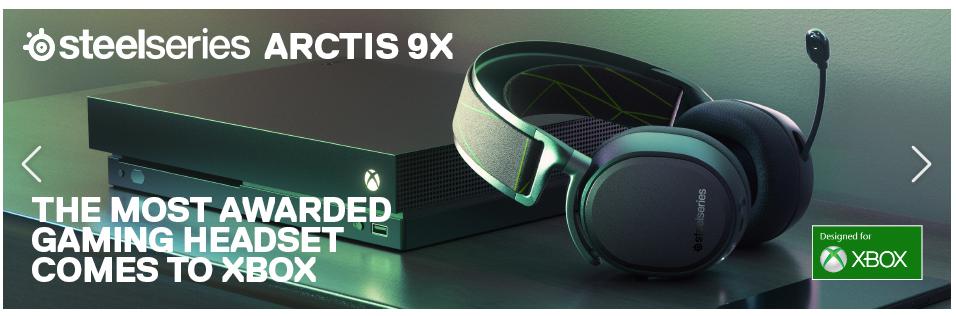 GameStop Deals: steelseries ARCTIS 9X