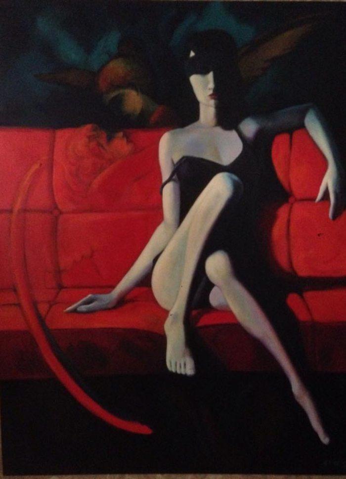 Албанский художник. Elio Bajramaj