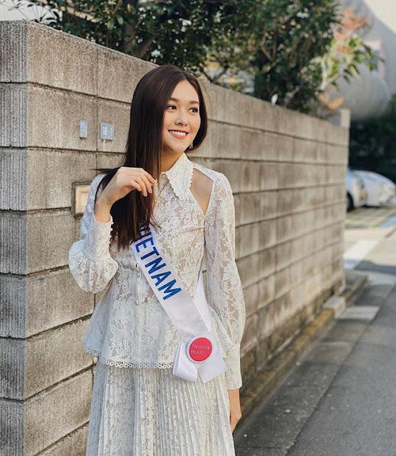 """Tường San: """"Hạnh phúc khi lọt top 8 Hoa hậu Quốc tế 2019"""""""