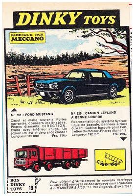 Dinky Toys 1965