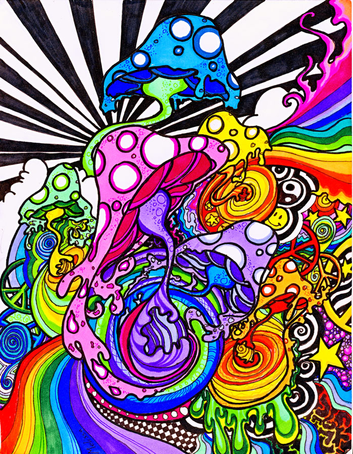 109 best images about Trippy shit on Pinterest | Trips ... |Crazy Trippy Drawings