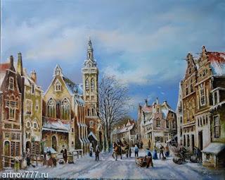 Зима пришла Картина