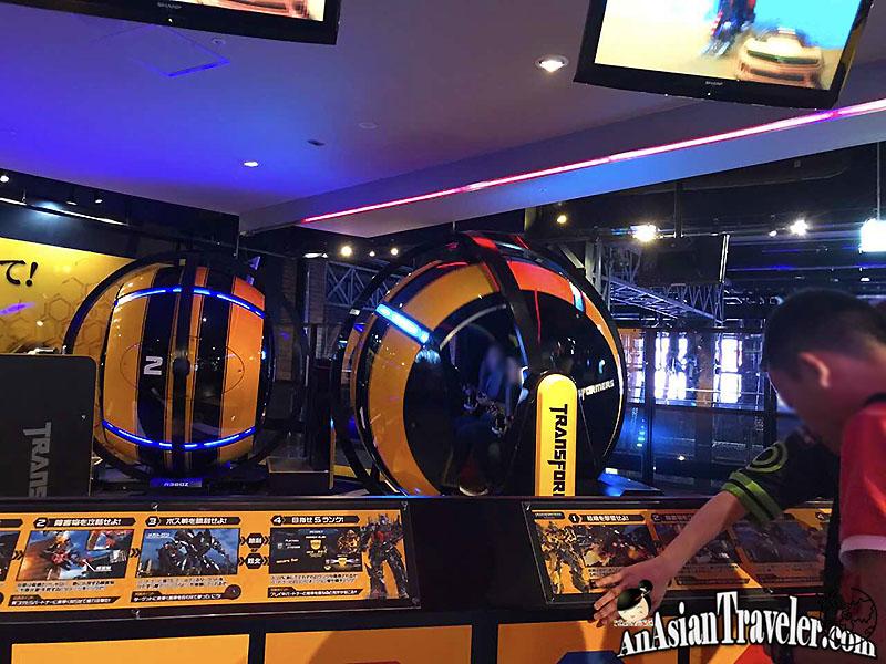 Transformers Human-Alliance Special at Tokyo Joypolis