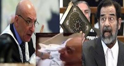 شاهدوا ماذا حدث للقاضي الذي حكم بالأعدام لصدام حسين
