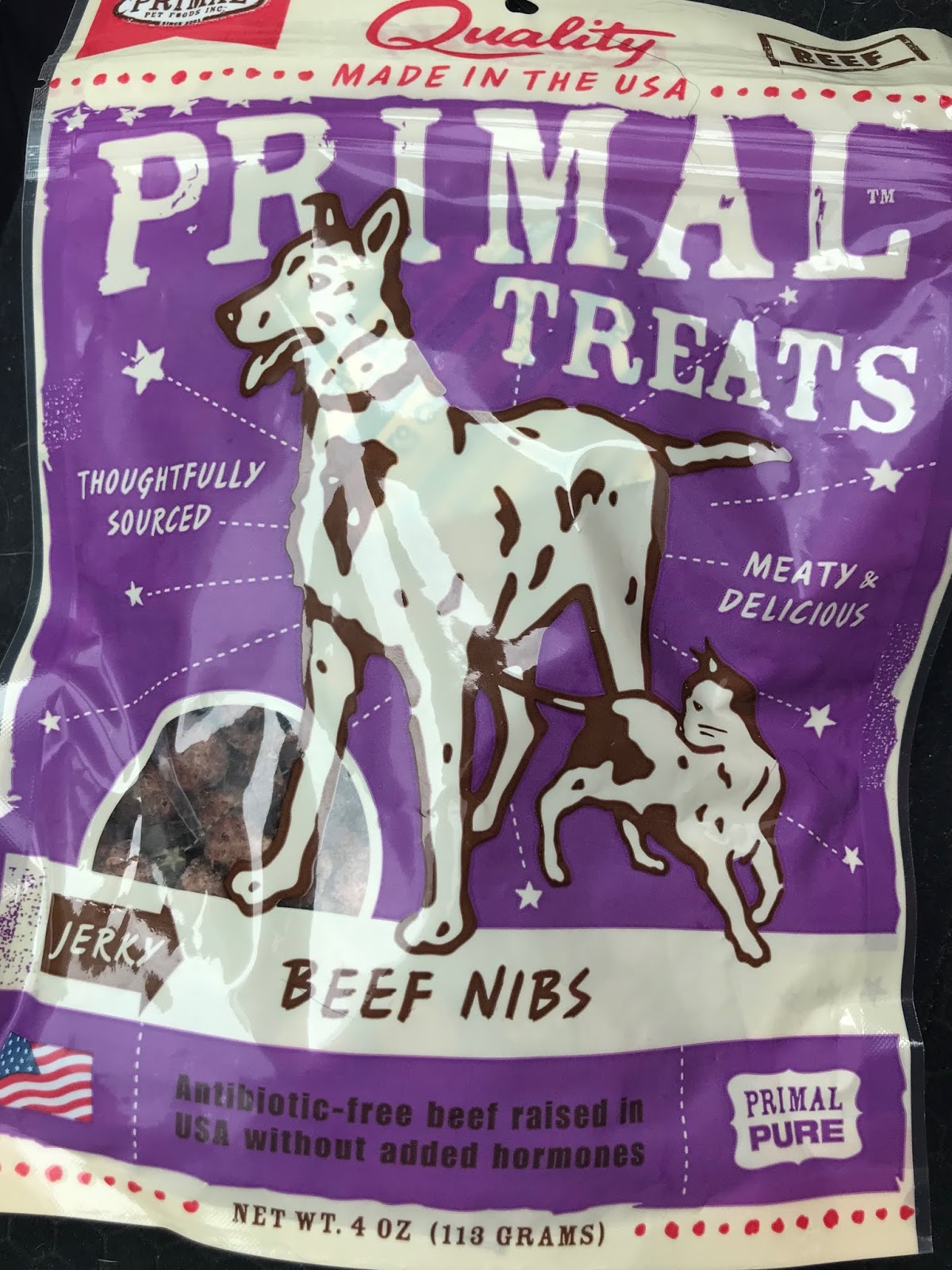 i wasn t sure what to expect from these snacks when i selected them we d had other primal treats before and they were always freeze dried treats