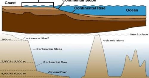 Bentuk Bentuk Relief Dasar Laut