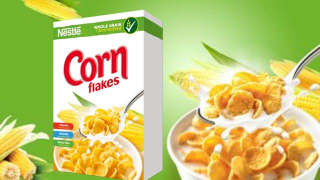 Bijirin Sarapan Nestle Corn Flakes
