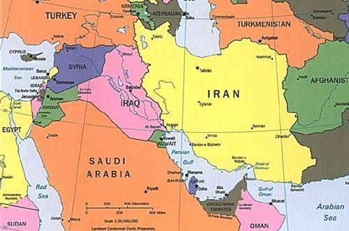 Negara Asia Barat Beserta Ibukota dan Keterangannya