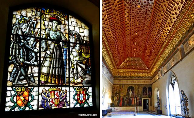 Aposento dos reis de Castela no Alcázar de Segóvia
