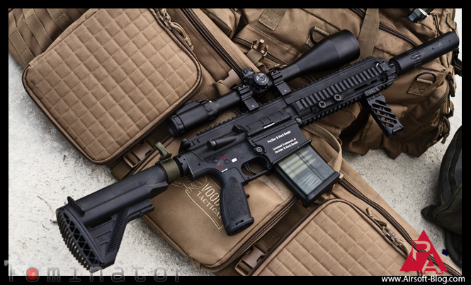 Elite Force HK417 Photos, Elite Force HK417 Review, VFC HK417 AEG, Airsoft AEG, Airsoft Guns Review, Pyramyd Airsoft Blog, Tom Harris Media, Tominator,