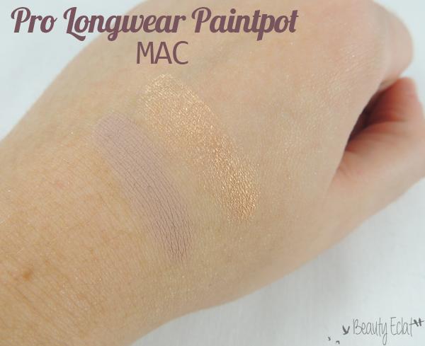 revue avis test pro longwear paintpot mac painterly rubenesque