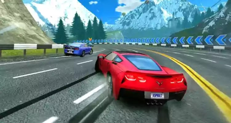 Asphalt nitro Racing Games download for Android & IOS
