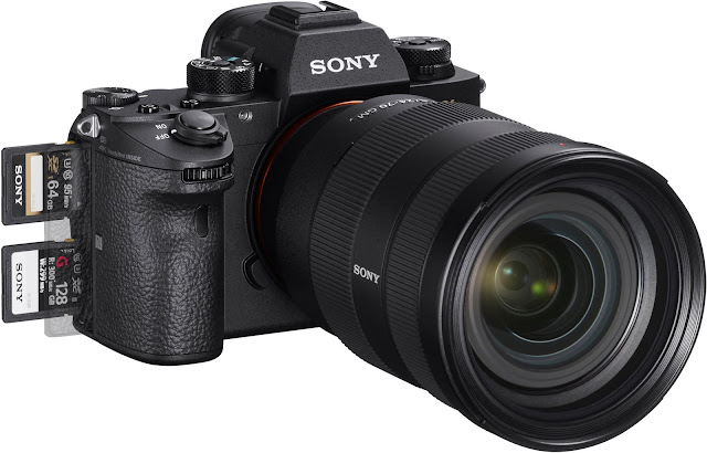 Sony a9 dual SD card slots