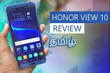 Honor View 10 Review! |Tamil