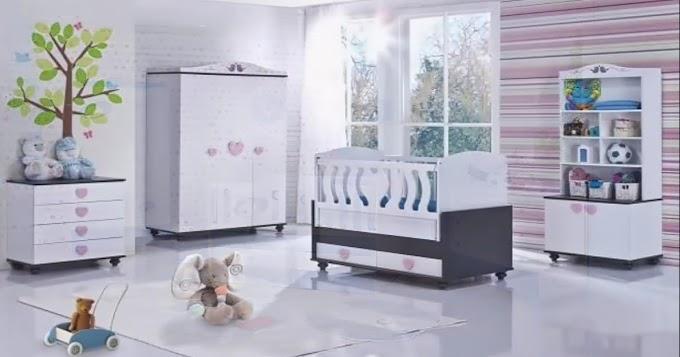 ديكور غرف نوم الأطفال الرضع مودرن
