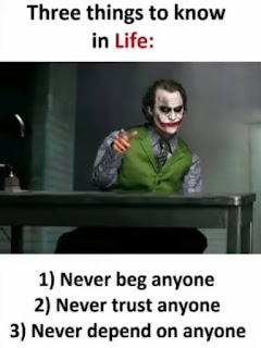 Attitude quotes by joker