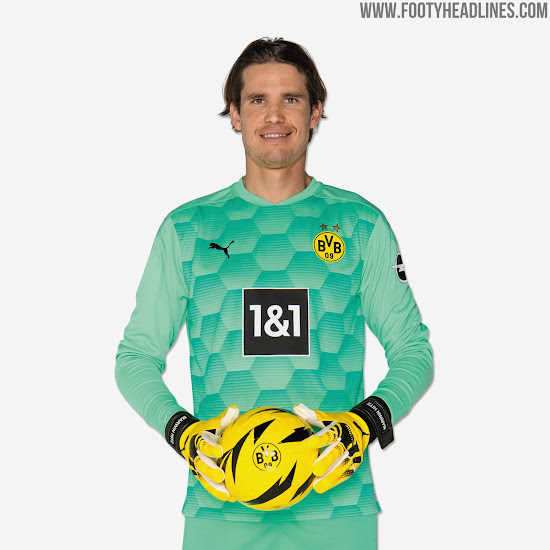 Borussia Dortmund 20 21 Goalkeeper Kits Released Footy Headlines