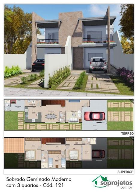 แบบบ้านแฝด