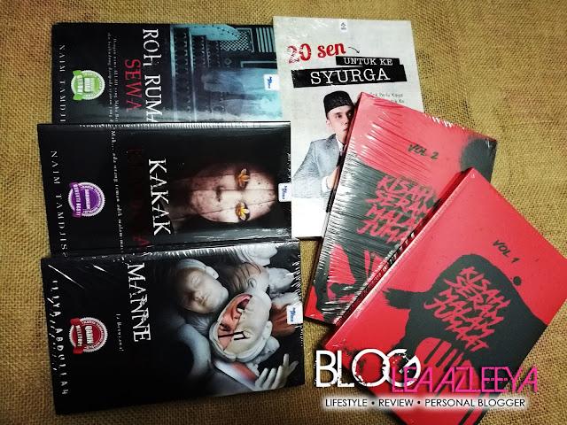 Novel Seram Dari Karangkraf Mall