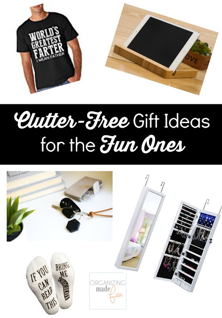 Clutter-Free Gift Ideas for the Fun Ones