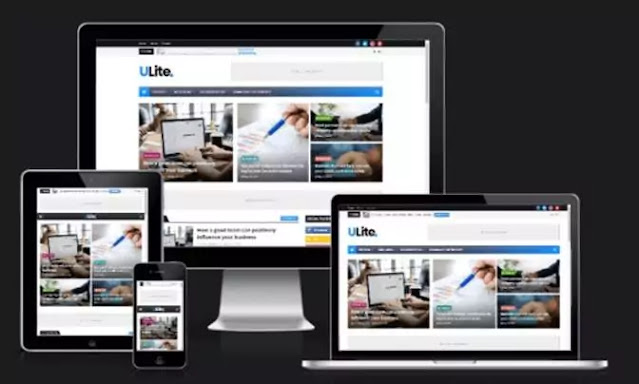 Ultra-Lite Blog Template