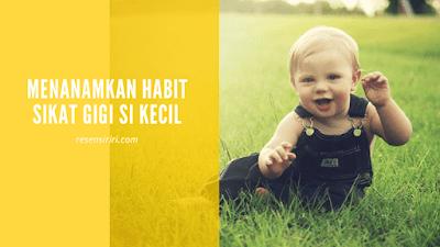 Tips Sikat gigi pada anak buku Parenthink Mona Ratuliu