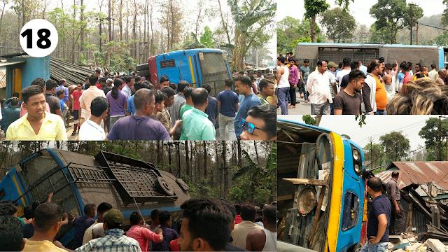 पानिटंकी नेपाल सिमा अंतर्गत राष्ट्रीय राजमार्ग 327 पर भयानक सड़क दुर्घटना।