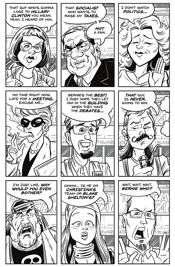 Bernie Sanders - 1