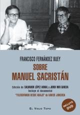 "Portada del libro ""Sobre Manuel Sacristán"""