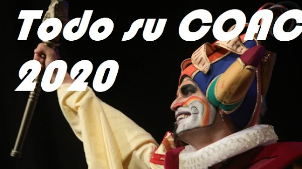 "Todo el COAC 2020 de la Comparsa ""Oh capitan my capitan"". 1º Premio"