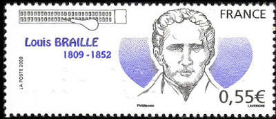 France 2009 - 200th Anniversary of the Birth of Louis Braille