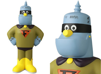Hanna-Barbera's Frankenstein Jr. and The Impossibles Vinyl Figures by Medicom Toy