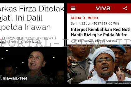 Akibat Terlalu Dipaksakan, Berkas Firza Ditolak Kejaksaan, Red Notice untuk Habib Ditolak Interpol