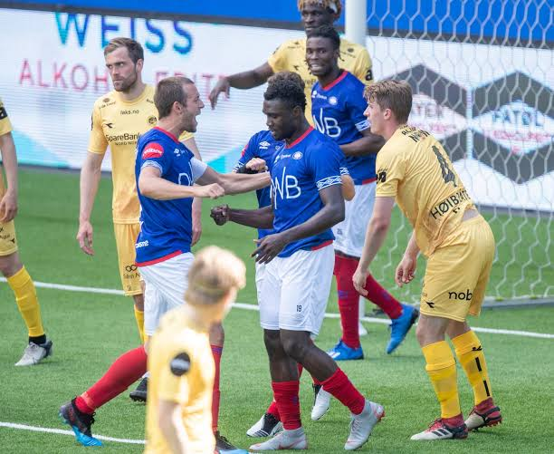 Two Nigerians on target ahead of the Norwegian Eliteserien League kick-off